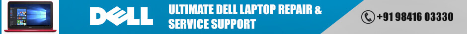 Dell laptop service Center in chennai